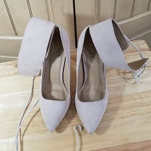 Missguided Suede-look Heels, sz 6M